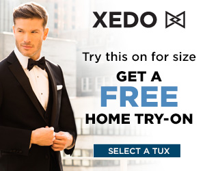 Xedo Free Home Try On Image - Man wearing tuxedo
